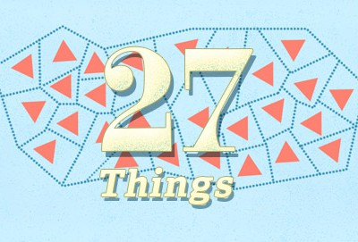 27 Things I've Learnt