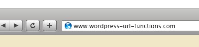 WordPress URL Functions