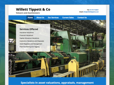 Willett Tippett Bespoke WordPress Website