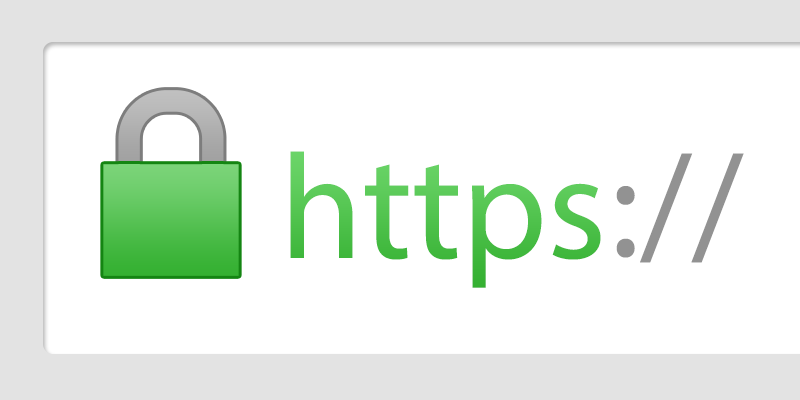 An example of a secure web url